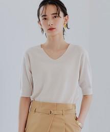 [可手洗] FFC 單畦編 × 天竺棉針織罩衫