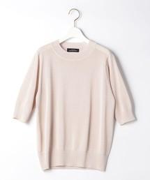 FM 紙纖維 MIX 短袖針織罩衫
