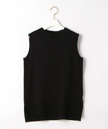 [ 可手洗] FFC  鈕釦 無袖 針織衫