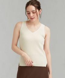 [可手洗] CFC 混亞麻 無袖 針織衫