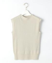 [可手洗] FFC 棉 尼龍 高領 針織罩衫