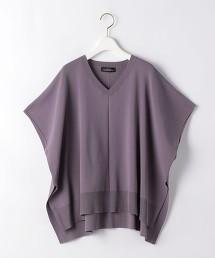 [可手洗] FFC V領 斗篷針織罩衫