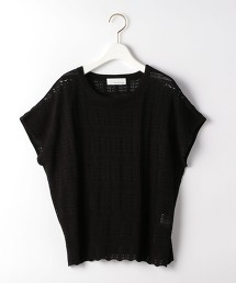 CFC 法國袖小孔針織衫