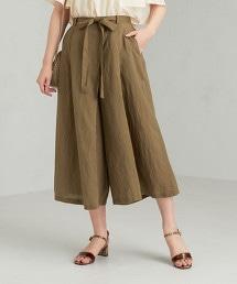 CFC L/R打摺寬版褲裙