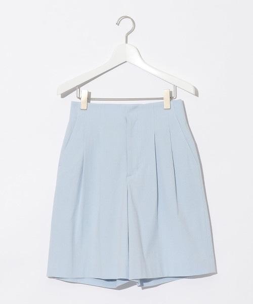 『BRACTMENT』 綁帶直條紋短褲