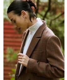 FM 美麗諾 雙排釦 西裝外套