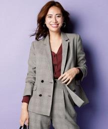 ◆FM 經典格紋 雙排釦 西裝外套