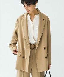 FM B/F 長版雙排西裝外套