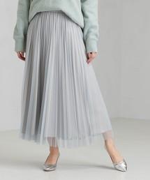 CFC 薄紗 褶裙
