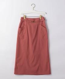 FFC 金屬扣環腰帶窄裙