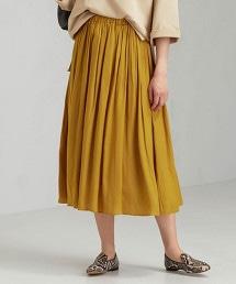 CFC 色丁 褶裙