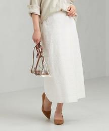 CFC 鏤空蕾絲 仿一片裙