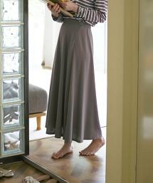 CFC 原纖維  車縫線裙襬喇叭裙