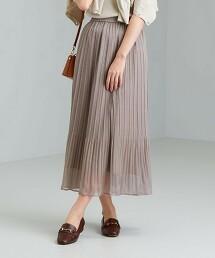 FFC 透膚 褶裙