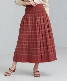 FFC 雙面穿 縮摺 長裙
