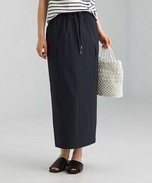 防潑水 抗UV 鬆緊腰 工裝裙 -防撥水-