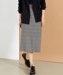 ◆ FM 經典格紋窄裙