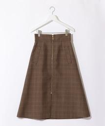 『BRACTMENT』W/P 正面拉鍊梯形裙