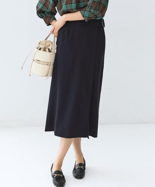 FM 附腰帶 窄裙