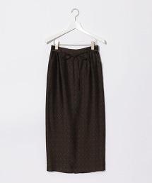 『BRACTMENT』  銅氨纖維 緹花 窄裙
