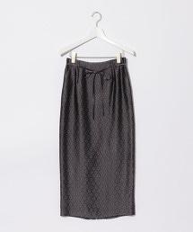 『BRACTMENT』  銅氨纖維 緹花 窄裙 OUTLET商品