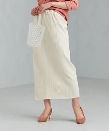 CFC 純棉 緹花 窄裙