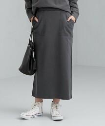 SC 仿舊 大口袋 長裙