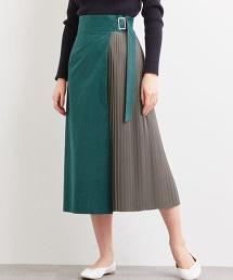 【先行預購】FFC 假兩件 褶裙