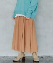 輕薄 打摺 荷葉裙