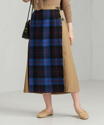 O'NEIL of DUBLI SC 色塊 蘇格蘭裙
