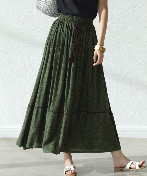 CFC INDIA 色塊印花迷嬉長裙