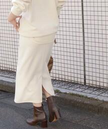 [ Tanacana ] SC 瓦楞組織 窄裙