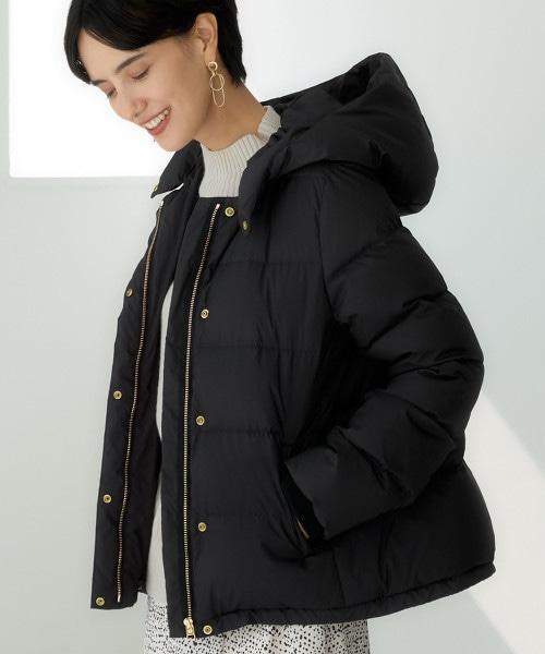 ◆CFC 防潑水連帽短版羽絨外套 ※