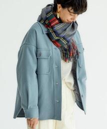 ◆SC W平紋緯編布 CPO 夾克 ※