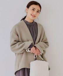 ◆CFC 瓦楞組織 短版大衣