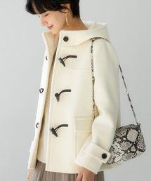 ◆SC 牛角釦大衣 SHORT WHITE ※