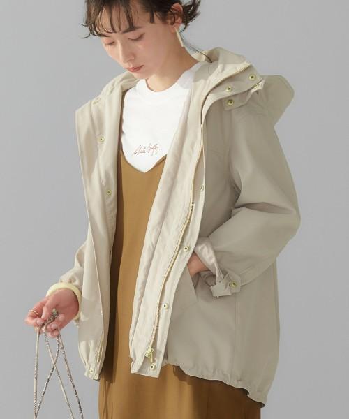 ◆SC 撥水 繭型 登山連帽外套