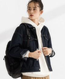 SC 丹寧夾克 寬版外套
