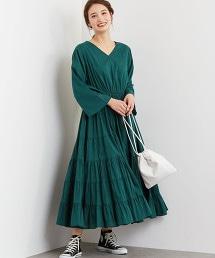 CFC INDIA V領 層疊設計 洋裝