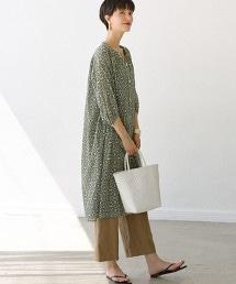 CFC 巴里紗細褶長版洋裝