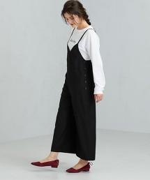 FM 綾織連身褲