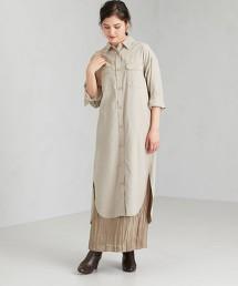 SC CPO 長版 襯衫式 洋裝