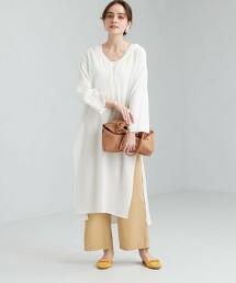 CFC 棉質 楊柳布 開衩 洋裝