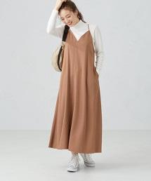 CFC 萊賽爾 綾織 吊帶洋裝