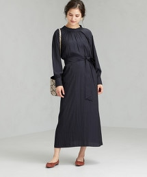 FFC 格紋 / 素色 2WAY 洋裝
