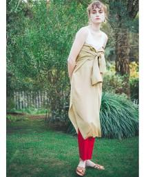 『BRACTMENT』 透明 透膚 寬鬆 襯衫式洋裝