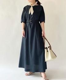 FFC 高密度平織 素色 土耳其袖洋裝