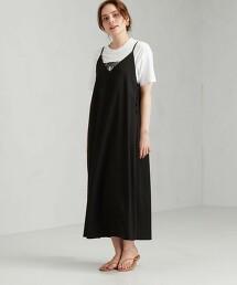CFC 胡桃釦 細肩帶A字洋裝