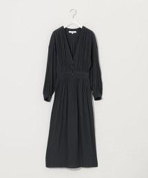 『BRACTMENT』緹花 後褶 土耳其袖 洋裝