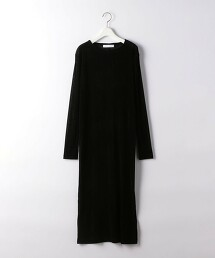 『BRACTMENT』 BM 薄紗 植絨印花 洋裝 日本製